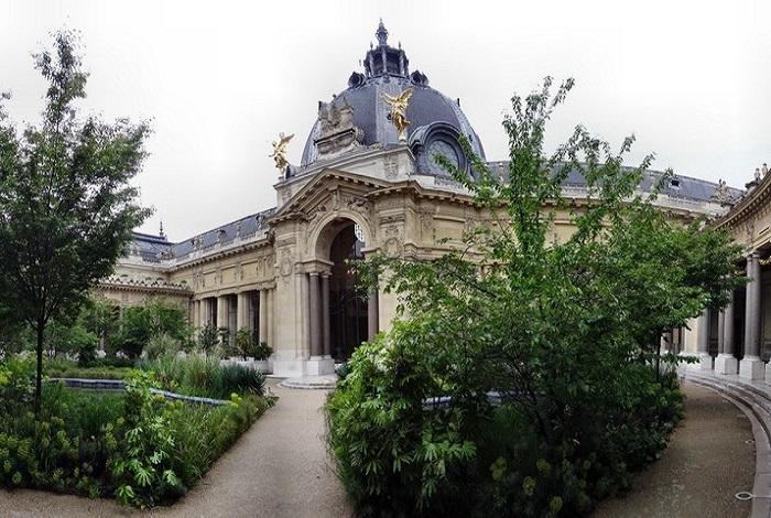 Париж Выставочный зал экспо-1900