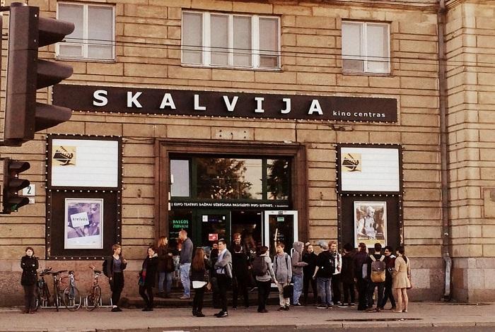Кино Карлсона в киноцентре Skalvija