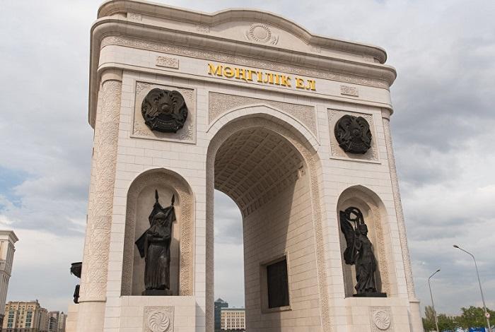 Триумфальная арка Мангилик Ел
