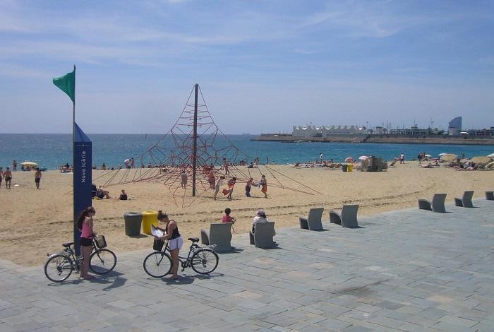 Пляж La Nova Icaria