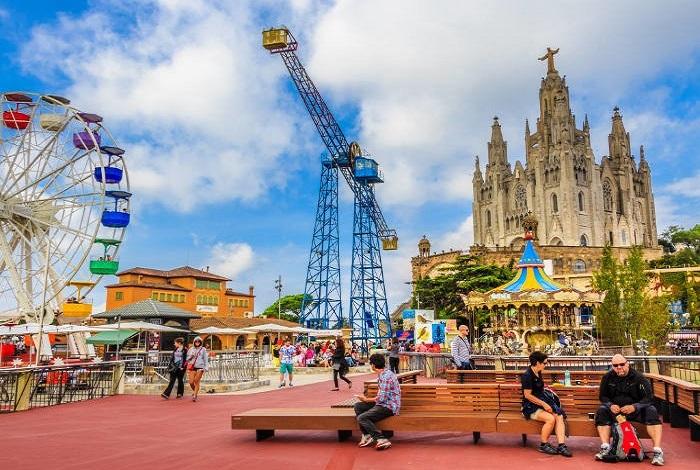 Парк развлечений Tibidabo