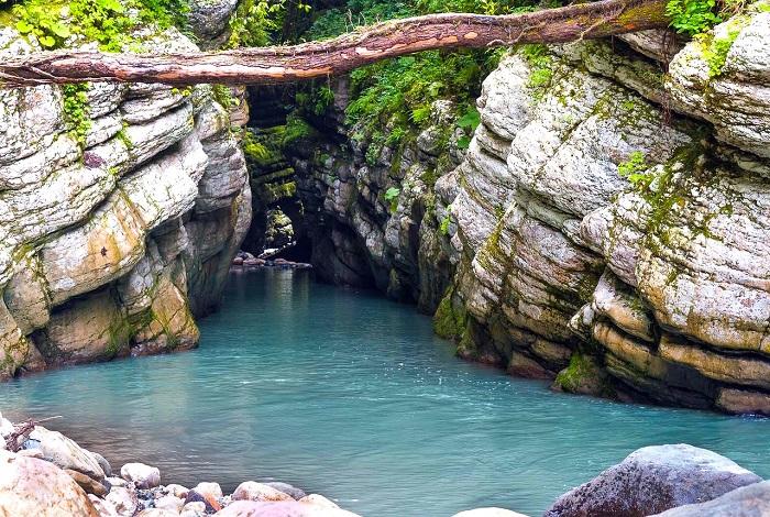 Ущелье реки Цихерва