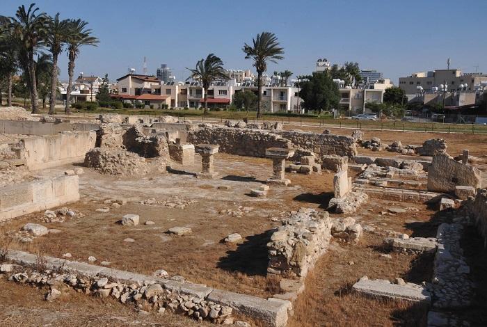 Древний город Китион