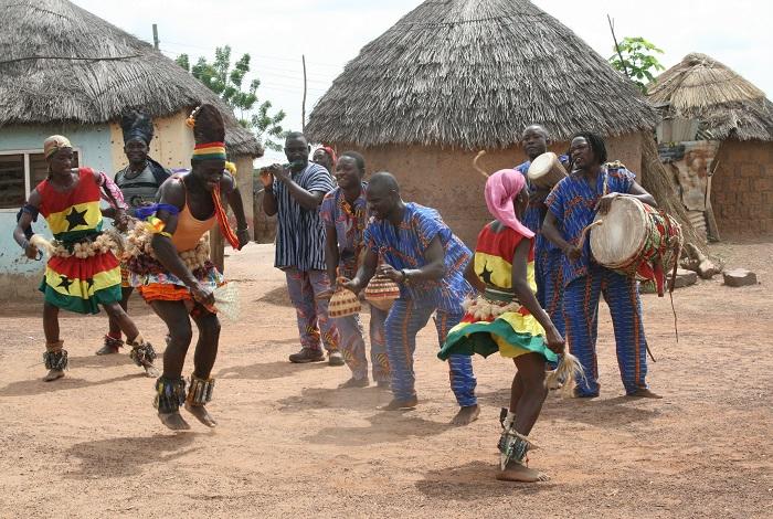 Африканская деревня в Сукко