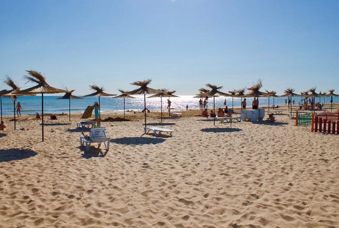 Пляж у гостевого дома «Приобье»