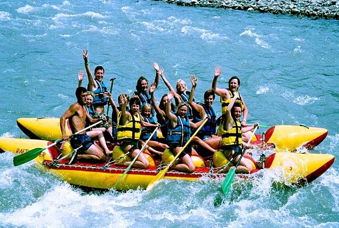 Рафтинг на реке Мзымта