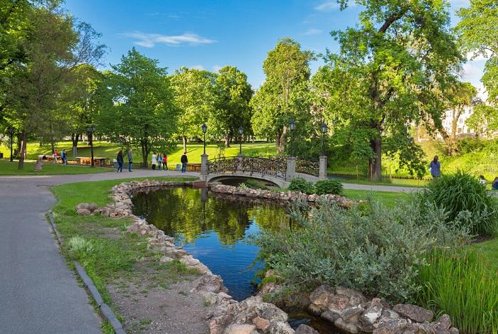 Парк Бастионная горка