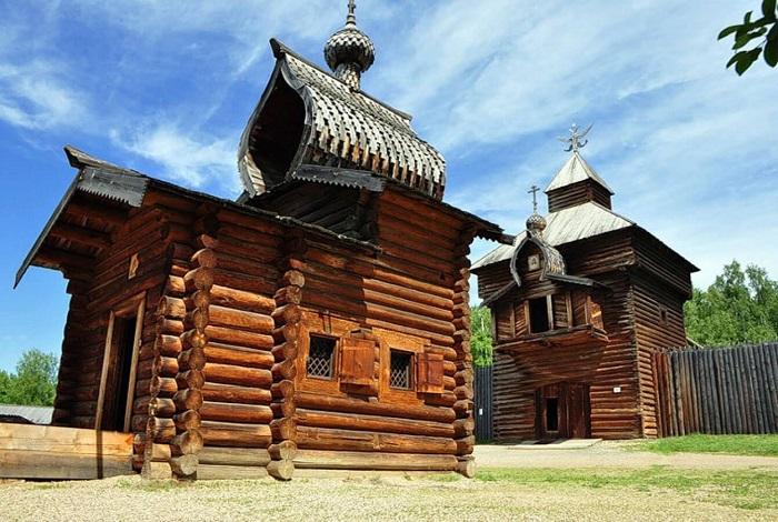 Музей деревянного зодчества Тальцы