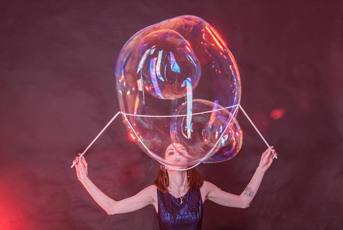 Шоу мыльных пузырей Bubble Science