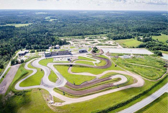 Автомобильный парк аттракционов Laitse Rally Park