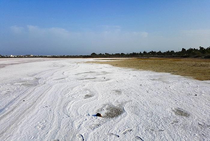 Солёное озеро Ларнаки