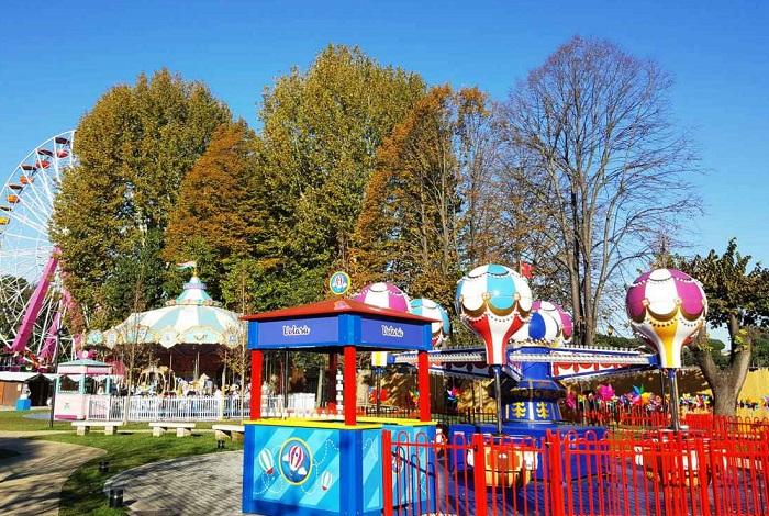Детский парк аттракционов Eden Park Roma