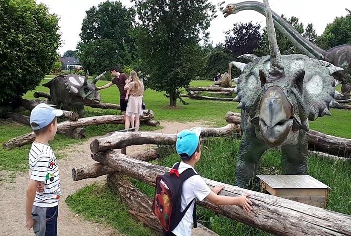 Парк динозавров Deokpyeong Dinosaur Arboretum