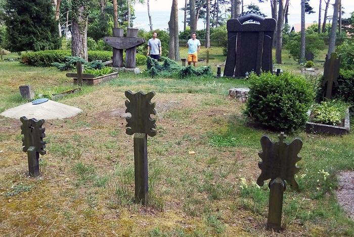 Кладбище в Ниде