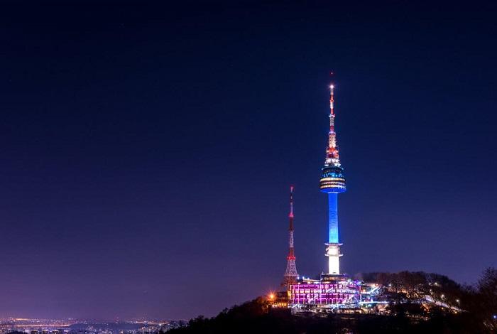 Сеульская телебашня (Башня Намсан, Башня N)