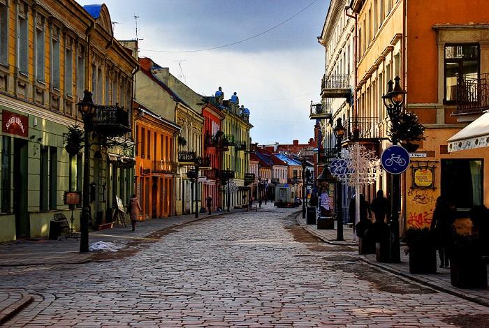 Старая часть города Каунас