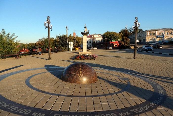 Памятник «Пуп Земли»