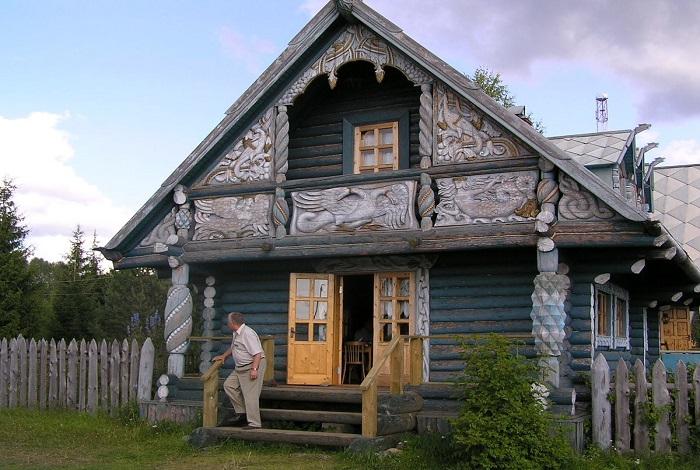 Дом резчика