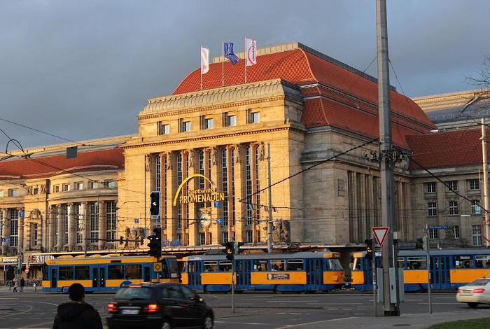 Главный вокзал Лейпцига