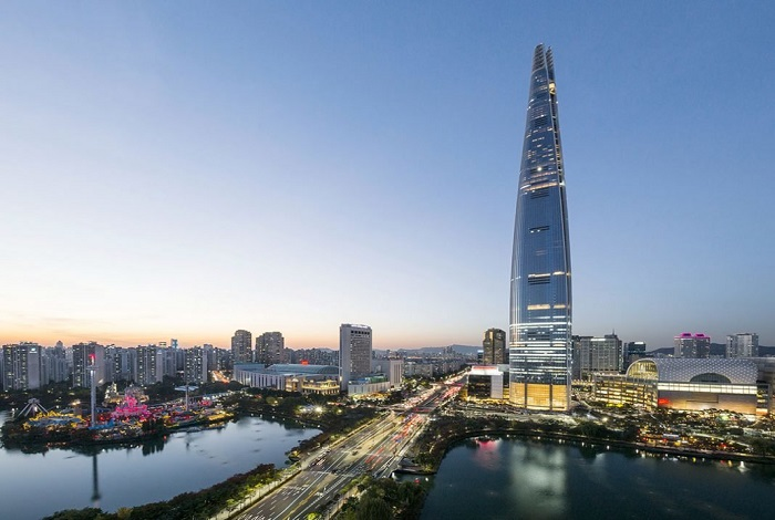 Сверхвысокий небоскреб Lotte World Tower