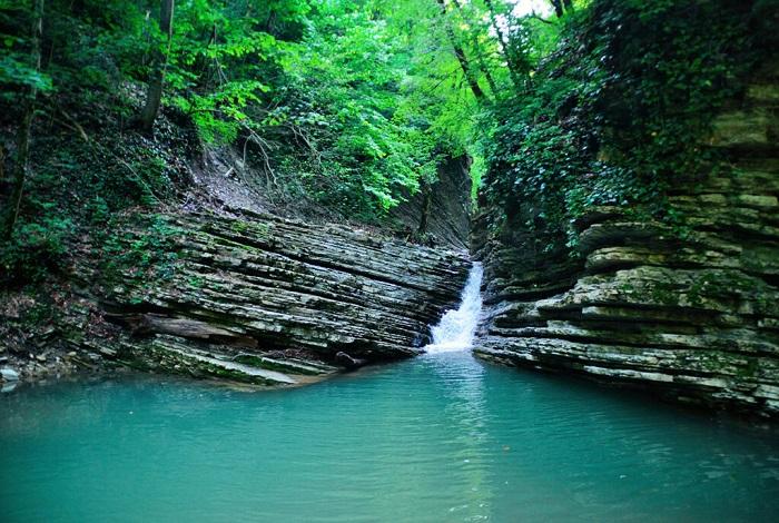 Водопад Голубой