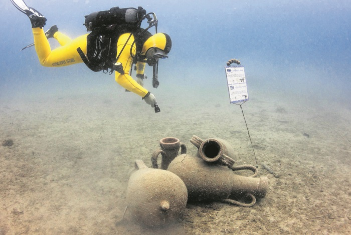 Подводный парк Пунат на острове Крк