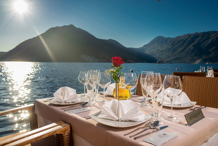 Ресторан в Черногории