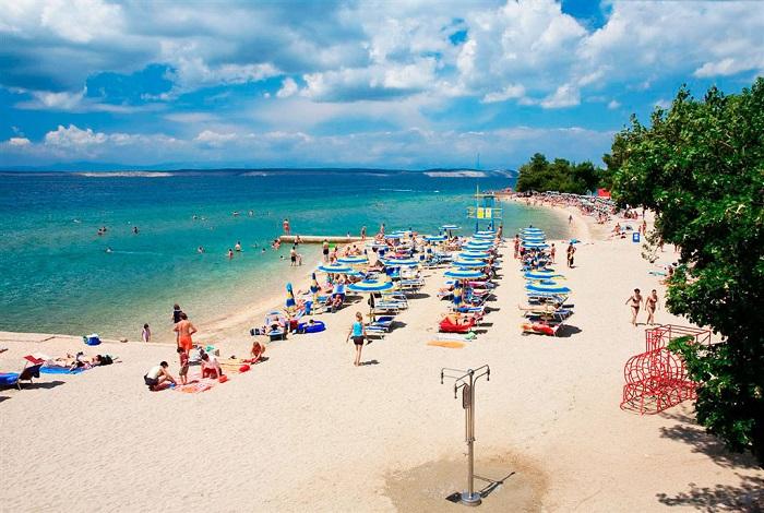 Песчаные пляжи