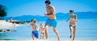В Хорватии с детьми