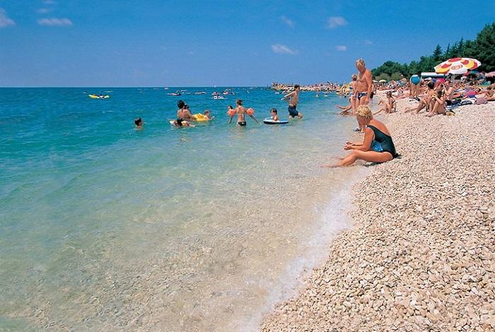 Мелкогалечные пляжи