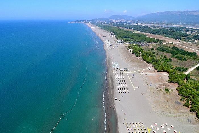 Пляжи Ульциньской Ривьеры
